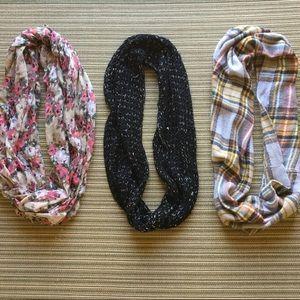 Francesca black scarf & other fall scarves